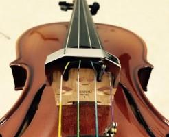 バイオリン消音器