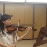 奈良・生駒・大阪の楽しいバイオリン教室 りり先生のバイオリン姿勢レッスン