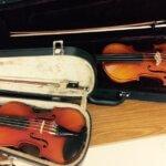 奈良・生駒・大阪の楽しいバイオリン教室 レンタル用バイオリン